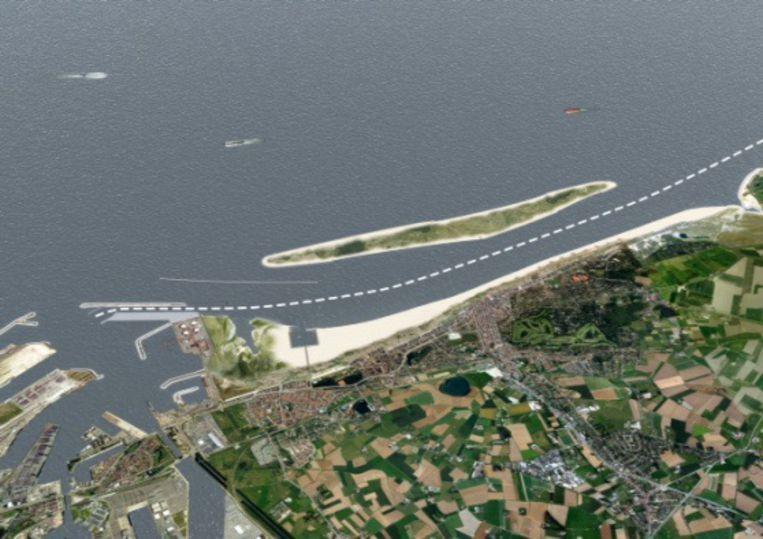 Het proefeiland voor de kust van Knokke zal er volgens staatssecretaris voor de Noordzee, Philippe De Backer, niet komen.