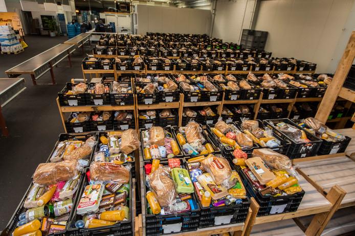 Wekelijks worden 1100 monden gevoed uit een noodpakket van de Voedselbank.