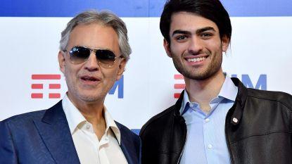 Zoon van Andrea Bocelli tekent platencontract