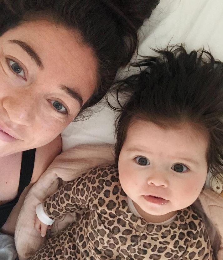 Naomi van As en dochter