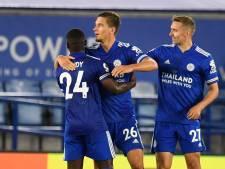 Praet buteur, Castagne à l'assist: six sur six pour Leicester City