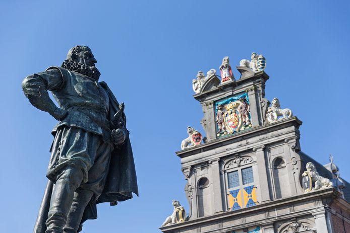 Als het aan Klaas Johannes Wakker ligt, krijgt Urk net als Hoorn een standbeeld van bijvoorbeeld JP Coen.