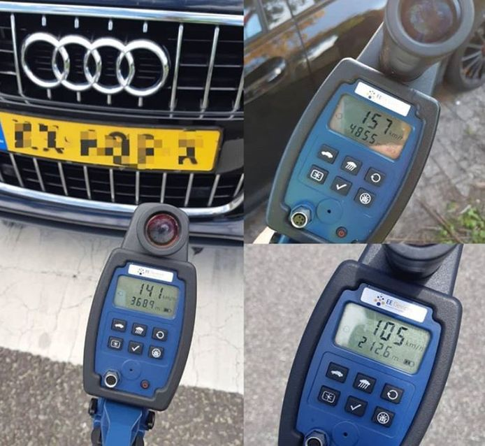 Snelheidscontroles in Den Bosch