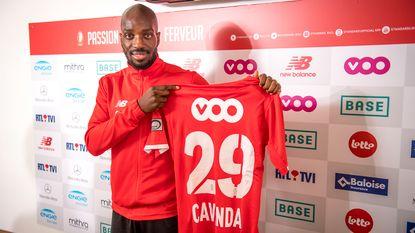 """Standard-aanwinst Cavanda: """"Vanden Borre is mijn voorbeeld. Kan net zoals hem met Rode Duivels naar WK"""""""