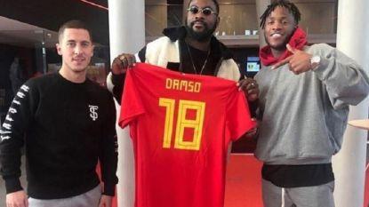 """Voetbalbond staat open voor gesprek over WK-lied van """"vrouwonvriendelijke"""" Damso"""