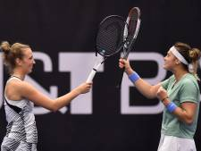 Elise Mertens et Aryna Sabalenka remportent le double à Ostrava