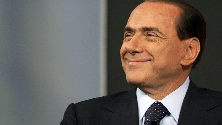 De Italiaanse premier Silvio Berlusconi, het typevoorbeeld van een rijkaard die met alles wegkomt.