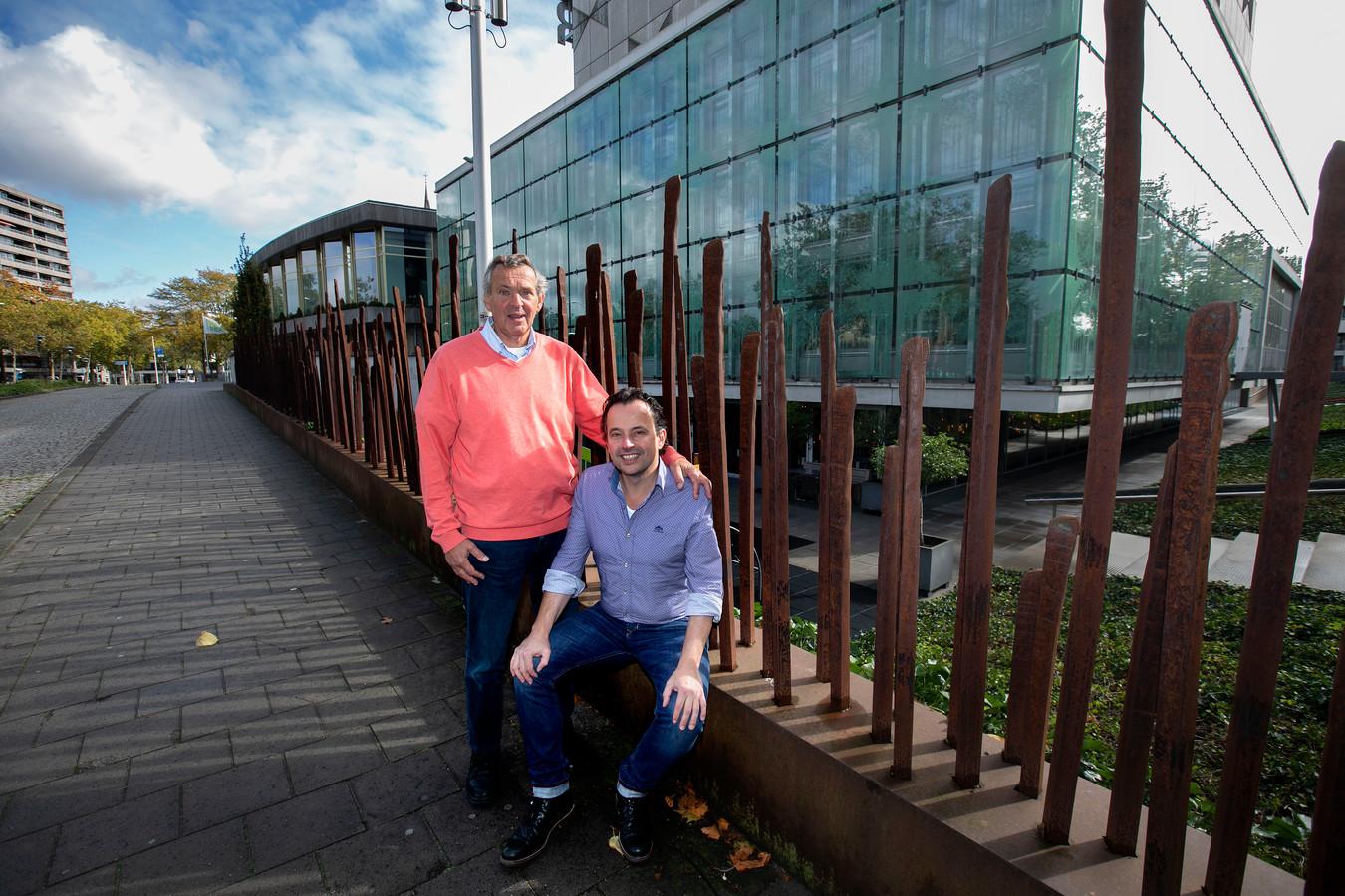 Tom van Campen en Jeroen Pijnenburg zijn kartrekkers van het initiatief Eindhoven in Contact.