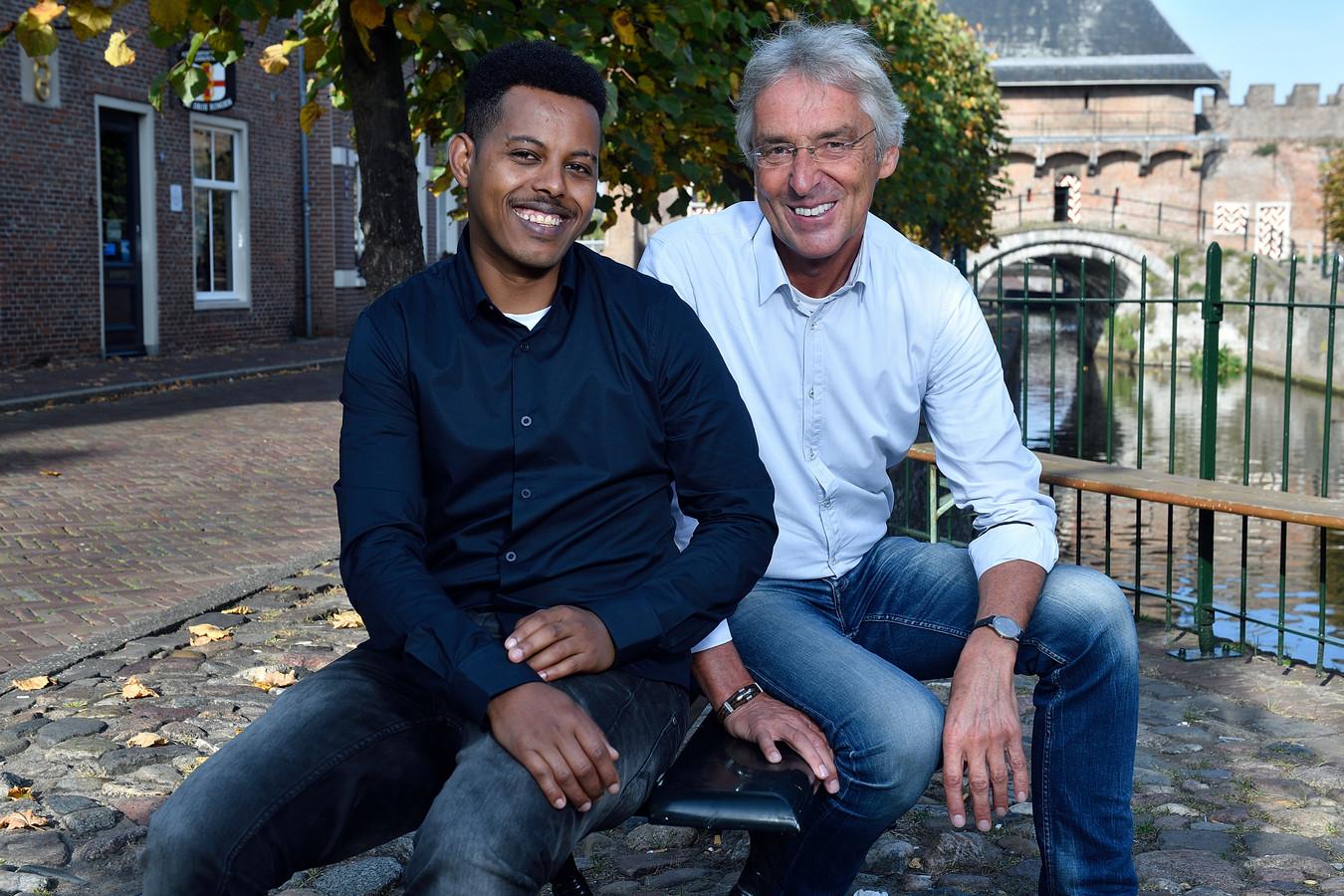 Meseret Solomon en Peter van den Boogaard kunnen veel van elkaar leren.
