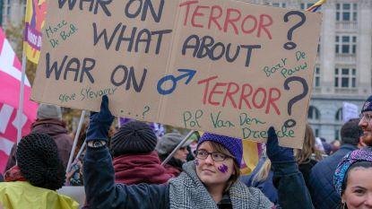 Vijfduizendtal mensen klaagt in Brussel geweld tegen vrouwen aan