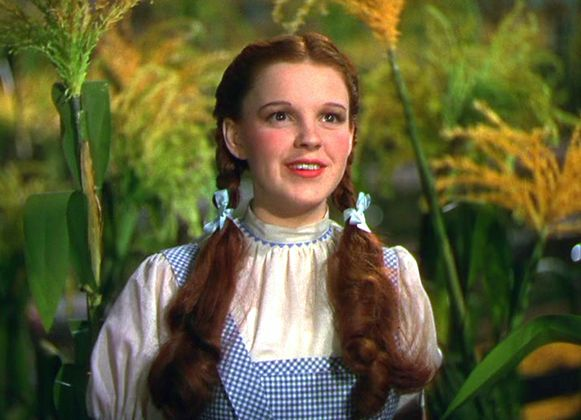 Judy Garland in 'The Wizard Of Oz'.