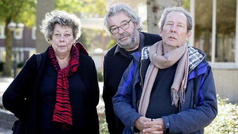 Maarten, Vincent en Sis Van Rossem Beeld