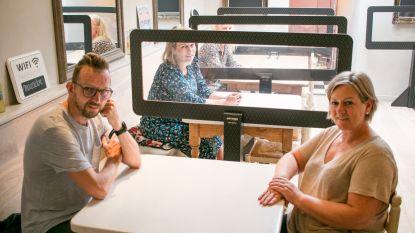 """""""Klanten extra gevoel van veiligheid geven"""": Tartinneke plaatst schermen tussen tafels"""