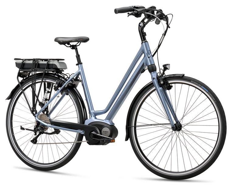 Een fiets van het merk Koga