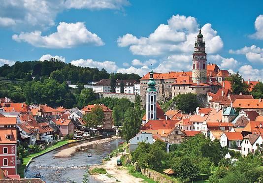 Cesky Krumlov: Unesco werelderfgoed, of 'het Brugge van Tsjechië'.