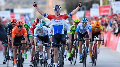 Indrukwekkende Jakobsen vloert ex-ploegmaat Viviani in openingsetappe Ronde van de Algarve