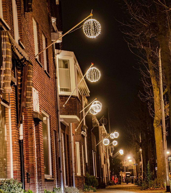 Lichtbollen aan de Pelgrimsweg