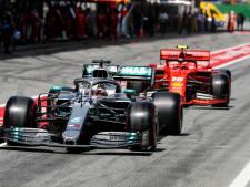 Mercedes heeft met Hamilton gesproken over overstap naar Ferrari