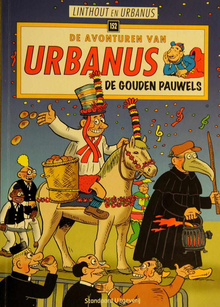 Album 152 van de Urbanus-stripreeks heeft de Pauwelviering (zie ook rechts op archiefbeeld) als thema.