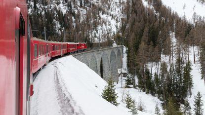 Kronkelend door de Zwitserse Alpen