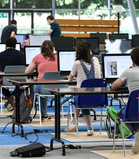 Près d'1% de problèmes techniques sur les 20.000 premières copies d'examen à l'UCLouvain