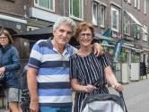Een cadeau in een wandelwagen in Wageningen