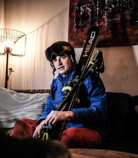Geen afdaling, geen après-ski; negatief vakantie-advies doet wintersportfan Dion pijn