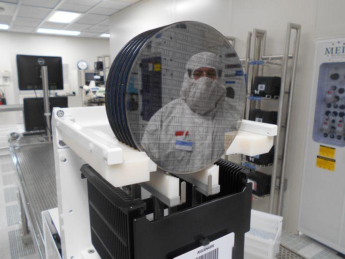 De gloednieuwe chipfabriek van NXP in Chandler in de Verenigde Staten.