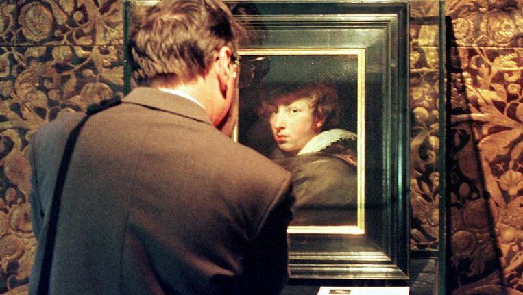 Antoon Van Dyck (1599-1641) geschilderd door Pieter Paul Rubens. Archieffoto Beeld epa