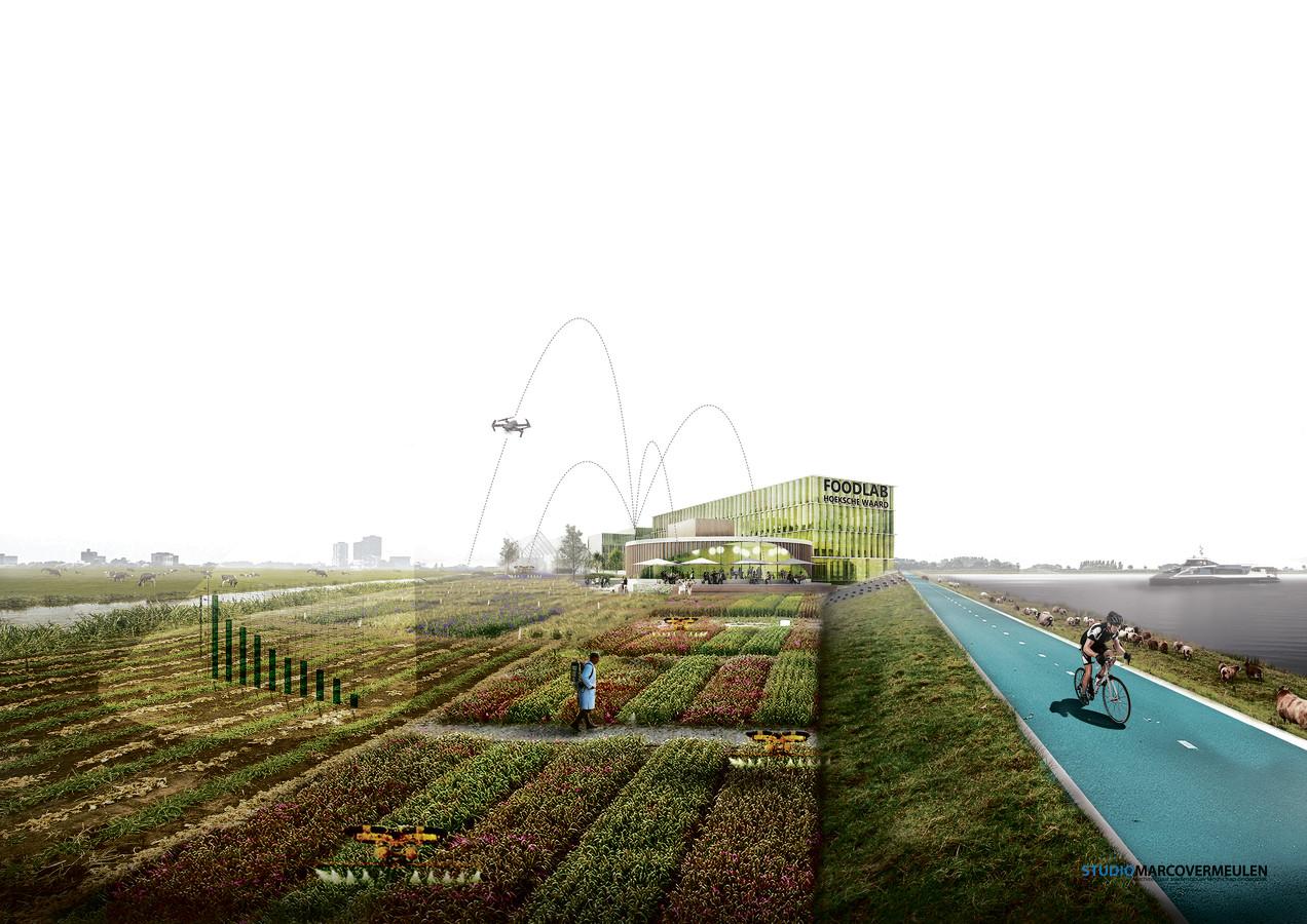 Zo kan het Foodlab Hoeksche Waard er uit komen te zien.