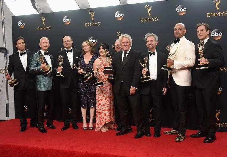 Writing-producing team van O. J. Simpson Beeld Getty Images