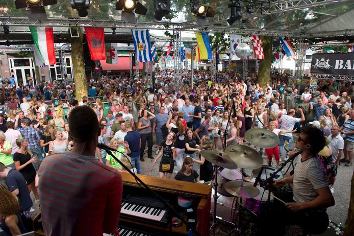 Vierdaagsefeesten vrijdag Faberplein