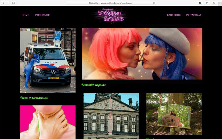 De website van Collectiet. Beeld Collectiet