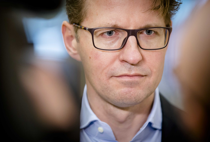 Minister Sander Dekker van Rechtsbescherming.