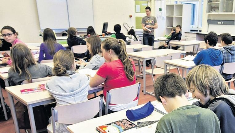 Geen docent zal geweld gebruiken tegen leerlingen zonder een zeker gevoel van onmacht. Beeld anp