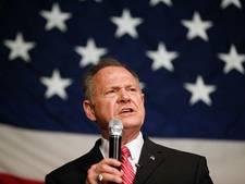 Omstreden senaatskandidaat Roy Moore laat zich niet meer zien