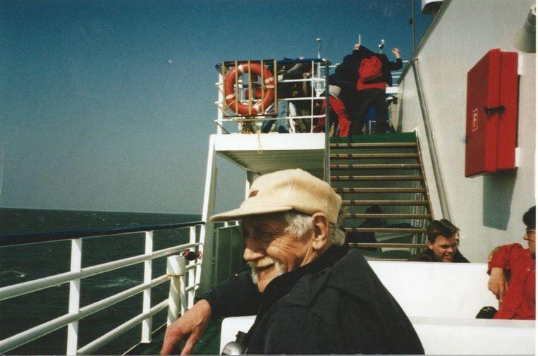 De vader van Afke van der Toolen hield van boten. Ooit zal een boot zijn as naar zee brengen. Beeld