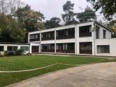 Tijdelijk asielcentrum aan Kalmthoutse Heide, net over de grens bij Putte, gaat gedeeltelijk open