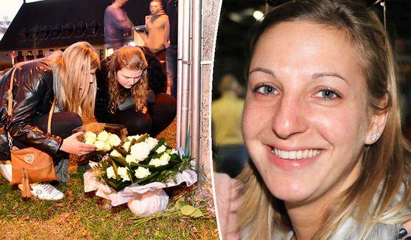 De beste vriendinnen van Sharon Gruwez legden in november bloemen neer op de plaats van het drama.