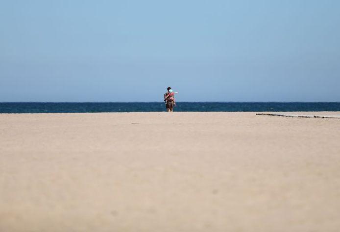 Les plages étrangement désertes à Valence