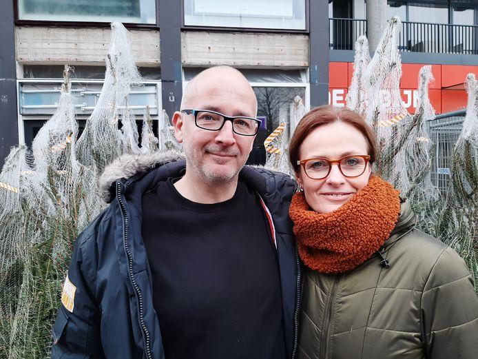 Rob Berkhout en Monique Otto.