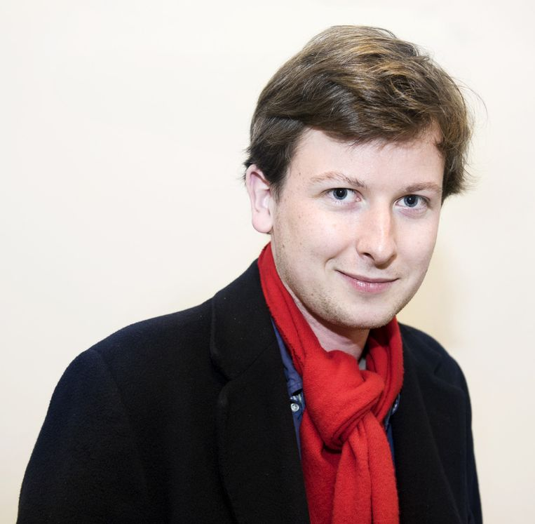 Jaap Oosterwijk, student politicologie. Beeld Sanne De Wilde