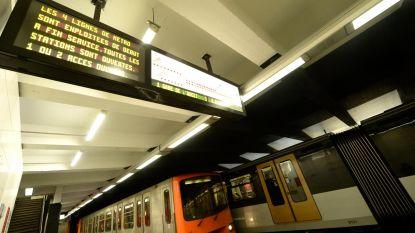 Metrolijnen 2 en 6 donderdag en vrijdag gedeeltelijk gesloten