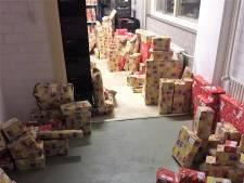 Sinterklaascadeaus voor 110 kinderen; Voedselbank Bommelerwaard bedankt donateurs