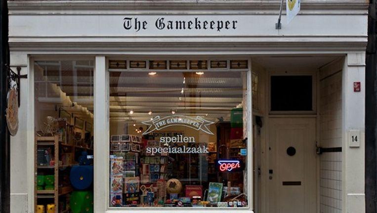 Spelletjeswinkel the Gamekeeper in de Hartenstraat Beeld http://www.gamekeeper.nl