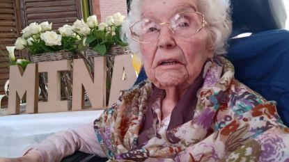 Ten Hove viert 100ste verjaardag van Mina
