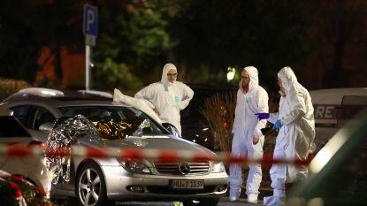 Minstens elf doden bij schietpartijen in Duitse stad Hanau, dader doodde ook zijn moeder en deed racistische uitspraken in manifest