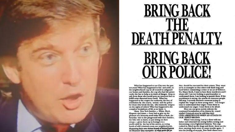 Donald Trump en de Central Park Five