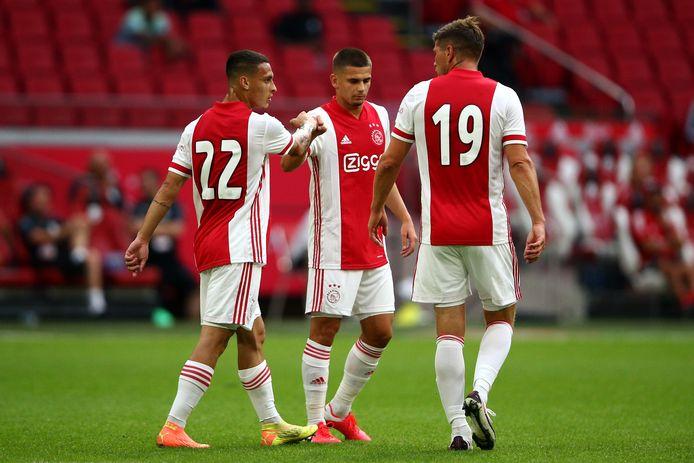 Antony, Razvan Marin en Klaas-Jan Huntelaar.