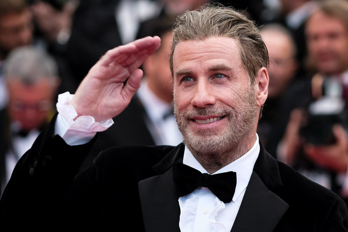 John Travolta in Cannes